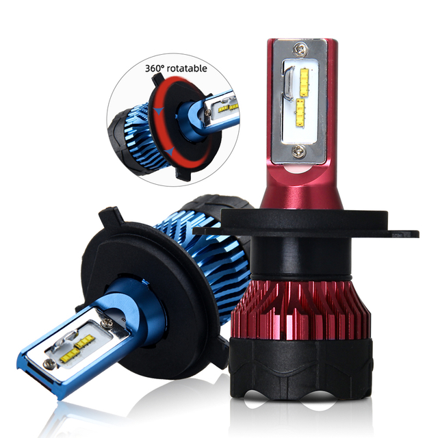CSP Super Bright Double Ball Bearing Fan led Headlight Bulb JG-K5