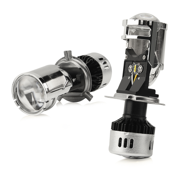 Mini Projector Lens High Low Beam LED Headlight Bulb JG-Y8