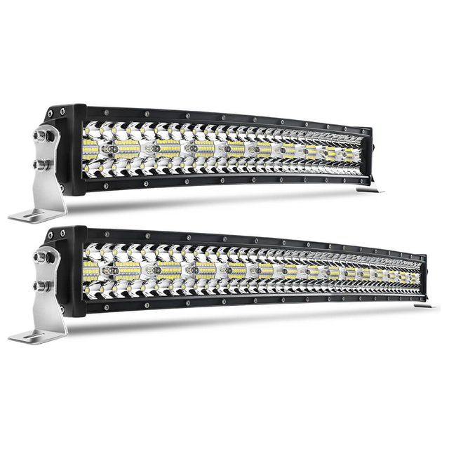 Auto Curved Light Bars for Trucks 9631T-C