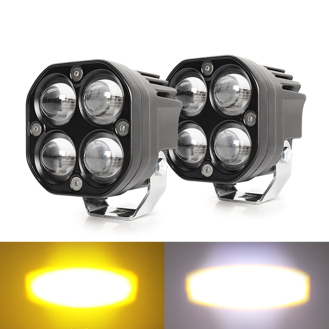Dual Color Led Projector Lens Pods JG-954D