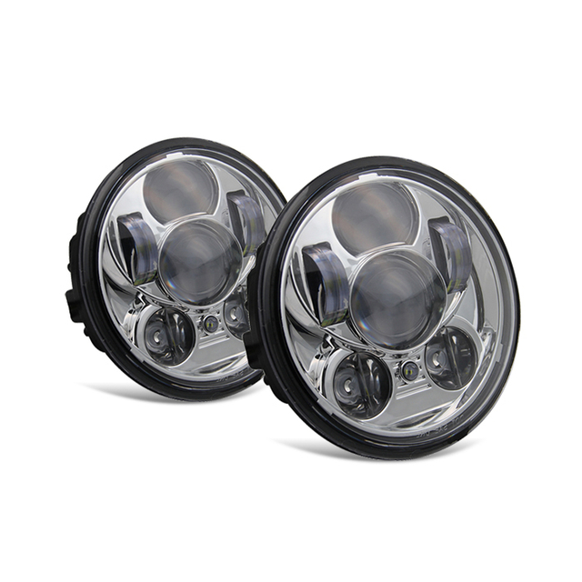 5.75 Inch Harley Davidson Round Led Motorcycle Headlight JG-M003